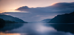 Ullswater Calm (Cintramontane) Tags: longexposure mountains water clouds landscape rocks skies calm tranquil