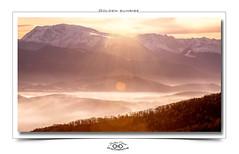 Golden Sunrise (wanajo38) Tags: snow france mountains clouds grenoble sunrise photo timelapse neige nuages vercors montagnes hivers isre rhnealpes timelaps leverdusoleil bordure cadrephoto