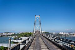 Acesso insular da Ponte Herclio Luz (Conrado Vardanega) Tags: brazil brasil florianopolis santacatarina pontehercilioluz