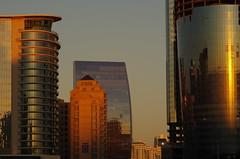 Downtown Sundown (bakunorthend) Tags: sunset skyline skyscraper pentax baku azerbaijan modernarchitecture goldenhour jwmarriot 720 bak k30 azrbaycan pentaxlife pentaxart absheronhotel smcpentaxdfamacro100mmf28wr 601000
