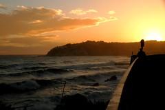 (Mikden *) Tags: winter sunset italy liguria genova vesima arenzano mareggiata thestormisover