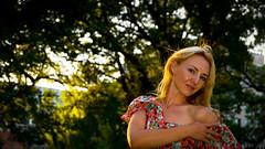 Yk 1 (yrfotos) Tags: light summer portrait sun gardens photography model melbourne depthoffield flagstaff trueportrait