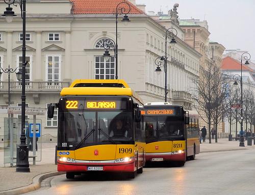 Solaris Urbino 12 Electric, #1909 & SU18III, #8211, MZA Warszawa
