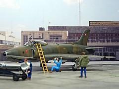 1:72 Supermarine Swift FR.51, aircraft '902/2 Red' of 6th Squadron, Sultan of Muscat and Oman's Air Force, 1967 (Whif/Xtrakit conversion) (dizzyfugu) Tags: cold green ex dark war force conversion earth aviation air arab rebellion swift sultan oman muscat raf 172 sidewinder fictional whatif modellbau 902 supermarine dhofar aim9 whif mk51 dizzyfugu xtrakit