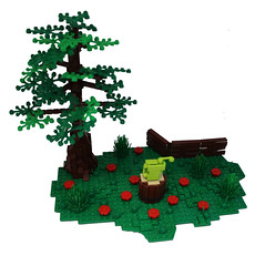Watering can! (Michael the juggler) Tags: flower tree nature landscape lego outdoor can abs watering npu