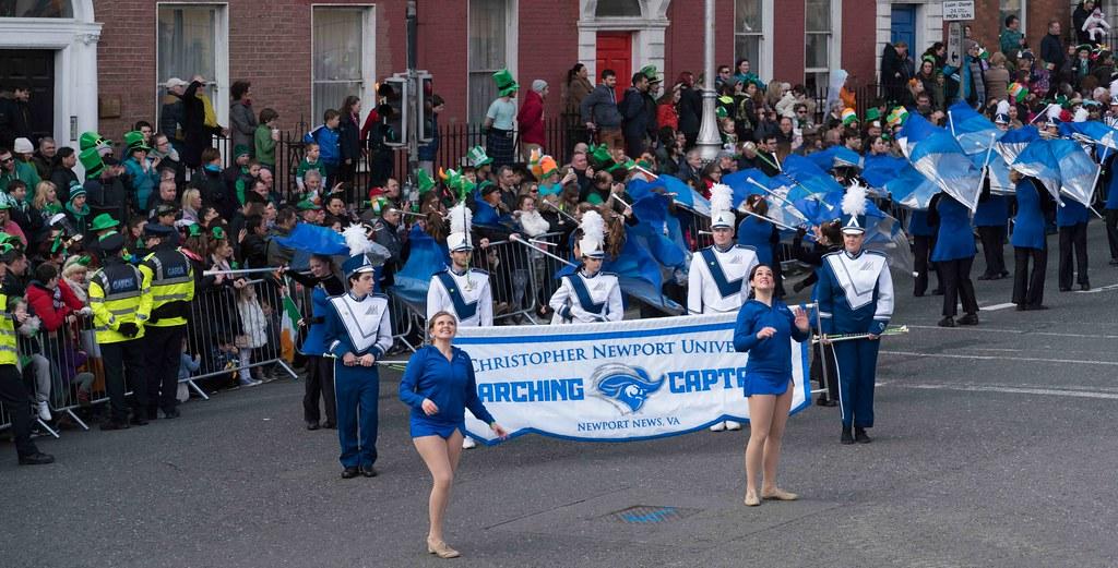 Christopher Newport University Marching Captains-112418