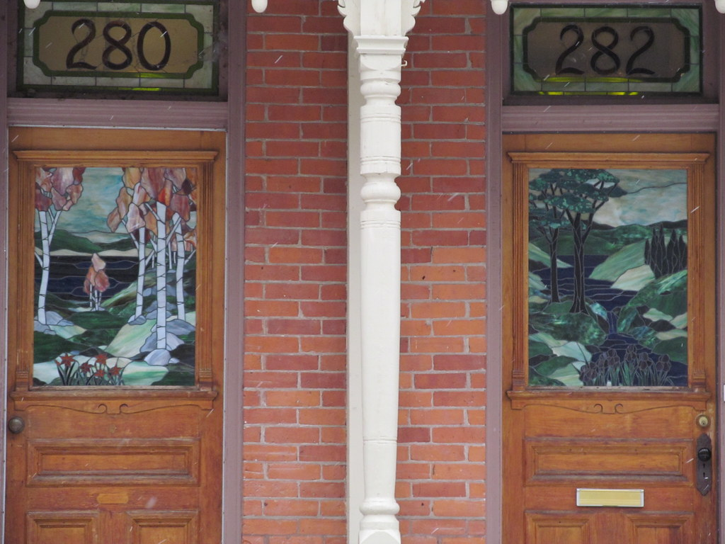 Stained glass doors (Quevillon) Tags door ontario canada stainedglass kingston innerharbour frontenac & The World\u0027s Best Photos of door and kingston - Flickr Hive Mind