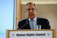.   Sergey Lavrovs address (  / MFA Russia) Tags: geneva russia un   unhrc  sergeylavrov lavrov