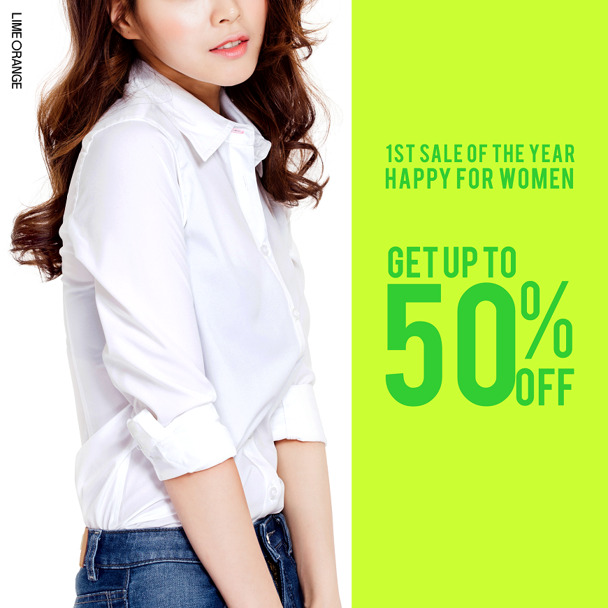 [SALE] The first SALE of 2016 - HAPPY FOR WOMEN