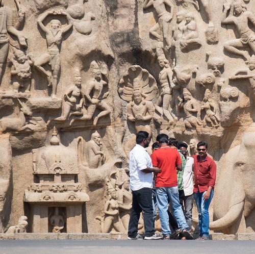 Arjuna's Penance Bromance