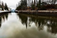 Lempäälä (Tuomo Lindfors) Tags: reflection water suomi finland canal vesi adjust heijastus kanava lempäälä restyle topazlabs lempäälänkanava
