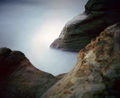 Any manner of mysteries (Zeb Andrews) Tags: ocean longexposure film oregon mediumformat landscape pacificocean pacificnorthwest oregoncoast analogphotography pacificcity capekiwanda filmphotography ndfilter colorfilm pentax67 kodakektar100