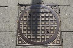 IMG_0261 (bildhamburg) Tags: raster bruin cirkel rond grond putdeksels vierkantjes aricia