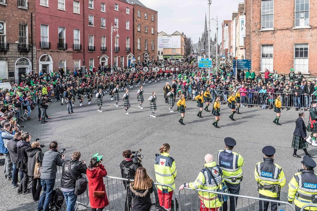 SHORECREST HIGH SCHOOL [ST. PATRICK'S PARADE IN DUBLIN 2016]-112263