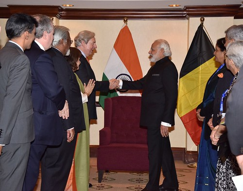 "Geoffrey Van Orden MEP meeting Indian Prime Minister Modi • <a style=""font-size:0.8em;"" href=""http://www.flickr.com/photos/50295034@N03/25861028320/"" target=""_blank"">View on Flickr</a>"