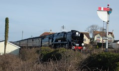 34053 Blue Anchor 12.3.16#1 (Bill Pugsley) Tags: mar12 34053 34098 20160312