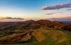 Evening on Hereford Beacon - Explore 020416 (cliveg004) Tags: sunset sky nature hills malvern worcestershire herefordshire goldenhour malvernhills worcestershirebeacon herefordbeacon