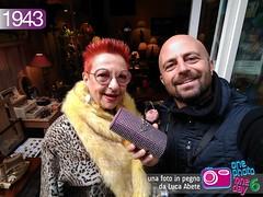 Foto in Pegno n 1943 (Luca Abete ONEphotoONEday) Tags: street paris 26 vinage marzo 1943 parigi selfie 2016