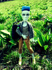 Slow Moe (seiya_mooncat) Tags: boy boys photo doll dolls photoshoot photos zombie guys mh mattel 2016 slowmoe monsterhigh ghoulspirit osalina monsterhigh2016