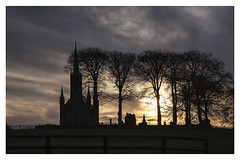 Church at sunrise (dunne_s) Tags: ireland church sunrise dawn second kildare