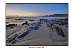 Rivermouth Sunset (JChipchase) Tags: sunset sea beach coast nikon australia d750 rivermouth prevelly