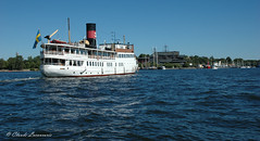 STOCKHOLM (claude.lacourarie) Tags: city sea water boats sweden stockholm bateaux summertime capitale sude