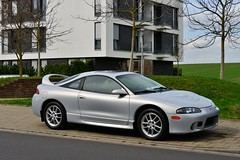 99 GSX in 2016 (v6rev) Tags: auto car silver stock automotive 1999 turbo ii mk2 20 gst mitsubishi gsx awd dsm d3 i4 mkii 2g silber gen2 argento automobil machina 4g63 kfz d32