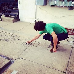 Drunk hopscotch #hopscotch (doitliketyler) Tags: hopscotch uploaded:by=flickstagram instagram:photo=6770892147130066873863553