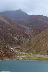 Lulusar Lake (gilgit2) Tags: pakistan sky lake snow mountains ice water clouds canon landscape geotagged rocks stream tags location elements vegetation greenery tele summits babusar diamer gilgitbaltistan canoneos650d imranshah canonefs55250mmf456isii gilgit2