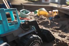 Loader season has been started (Jonne Naarala) Tags: home finland toy loader sandbox x70 fujix70 fujifilmx70