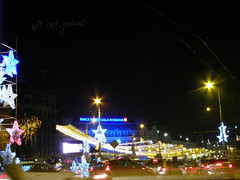 Bucharest lights during winter holidays (cod_gabriel) Tags: christmas winter night lights christmaslights romania bucharest bucuresti bukarest roumanie noapte boekarest bucarest iarna bcr romnia bucureti iarn bucareste bancacomercialromn