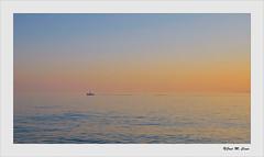 Baha de Almera (Jose Manuel Cano) Tags: sea espaa water mar spain agua barca almera baha nikond5100
