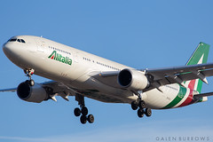 Alitalia A330 (galenburrows) Tags: airplane airport aircraft aviation airbus a330 pearson alitalia yyz planespotting cyyz
