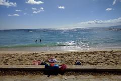 Kapiolani Park Beach in Waikiki (JonathanWolfson) Tags: beach waikiki waikikibeach kapiolani