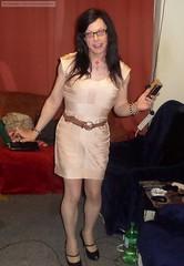 2016-04-08 (25) (emilyproudley) Tags: cute sexy glasses tv pretty dress girly feminine cd tgirl transgender tranny transvestite trans crossdresser transsexual convincing tgirls xdresser tvchix