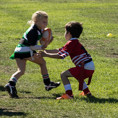 "20160409_7342_7D2-125 Ethan attempting a Rippa ""tackle"" (100/366) (johnstewartnz) Tags: canon eos ethan grandson grandchild 80200mm 80200 7d2 ripparugby 7dmarkii hornbyrfc"