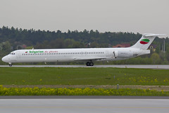 Bulgarian Air Charter MD-82 (pzlm28) Tags: douglas bulgarian super80 md80 mcdonnel md82