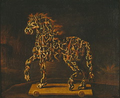 The Trojan Horse (lluisribesmateu1969) Tags: stockholm nationalmuseum 16thcentury arcimboldo
