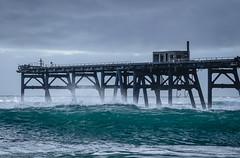 Moody Stormy Catherine Hill Bay Beach Jetty (kylieardill) Tags: industrial jetty australia nsw newsouthwales catherinehillbay