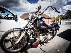 Old Harley (The-E) Tags: motorbike harleydavidson salisbury canon1740 canon6d