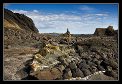 Mesa Beach (K-Burn) Tags: cliff coast rocks fife stacks elie eastneuk eliechainwalk kincraighill