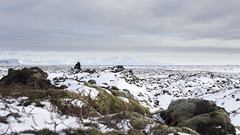 Lava field and Vatnajökull | Iceland (Julien Ratel ( Júllí Jónsson )) Tags: winter canon landscape iceland glacier paysage wandering islande icelandic lavafield vatnajökull landslag efs1022 neverstopexploring islenska blueju38 julienratel lýðveldiðísland julienratelphotography landslagsmynd blueju islenski inspiredbyiceland earthpix eos7dmarkii welivetoexplore jullijonsson icelandexploring