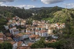 Cudillero, Asturias (Stroget) Tags: sky green nature clouds landscape town spain nikon pueblo asturias cudillero