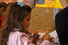4 (Ivana Patarchic) Tags: people easter child refugee serbia coloring eggs syria preparing goodfriday afganistan presevo onestopcenter