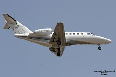 7T-VNF LMML 18-04-2016 (Burmarrad (Mark) Camenzuli Thank you for the 18.9) Tags: 2 cn private aircraft airline registration cessna citationjet 525a lmml 5250436 7tvnf 18042016