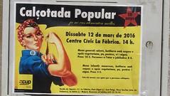 Concomitancia poltica V (Eduardo Gonzlez Palomar) Tags: cup catalonia girona escuela catalunya escola catalua gerona cartel fanatismo celr independentismo adoctrinamiento aulet