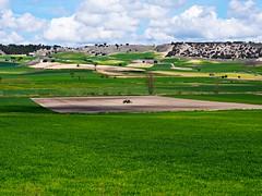 Las nubes y el sol (Jesus_l) Tags: espaa europa valladolid camposdecastilla valledeesgueva jessl