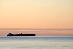 htune meri (Jaan Keinaste) Tags: sunset sea estonia ship pentax meri eesti k3 laev loojang pentaxk3