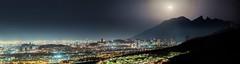 Monterrey Moonscape (flealr92) Tags: city panorama moon mountains night mexico high nikon cityscape nightscape fullmoon citylights nuevoleon d750 res monterrey moonscape parquenacional parquenacionalcumbresdemonterrey