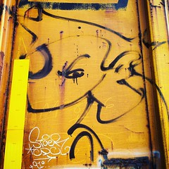 Jaber and Stoer benching in Tracy, California. (Suitable 4 Framin') Tags: california cali square graffiti graf tracy squareformat clarendon graff freight cdc handstyles handstyle iphoneography handstyler instagramapp uploaded:by=instagram handstylers